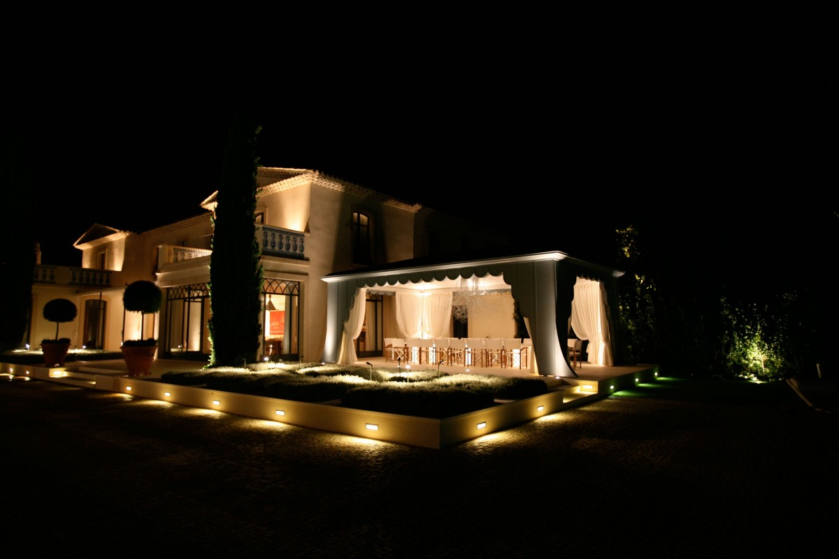 Terrace lighting design